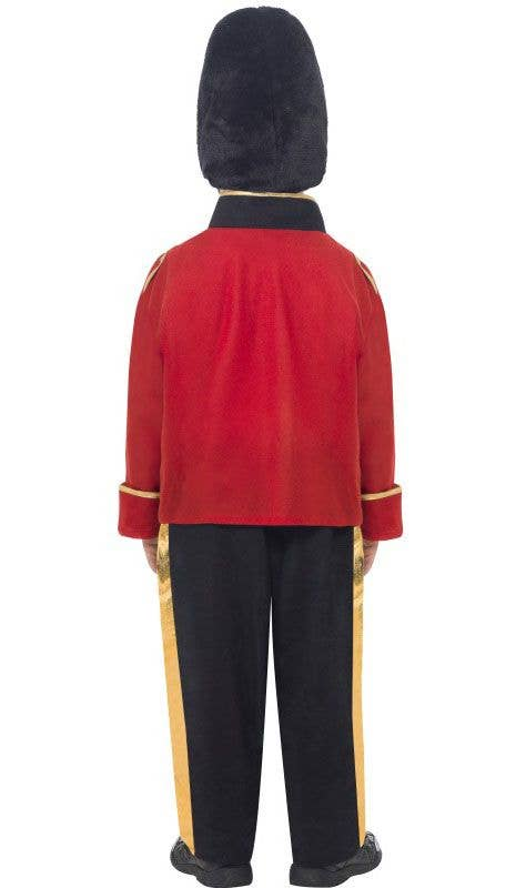 Boys Queen/'s Busby Guard Fancy Dress Costume The Royals Kids Party Book Week Fun