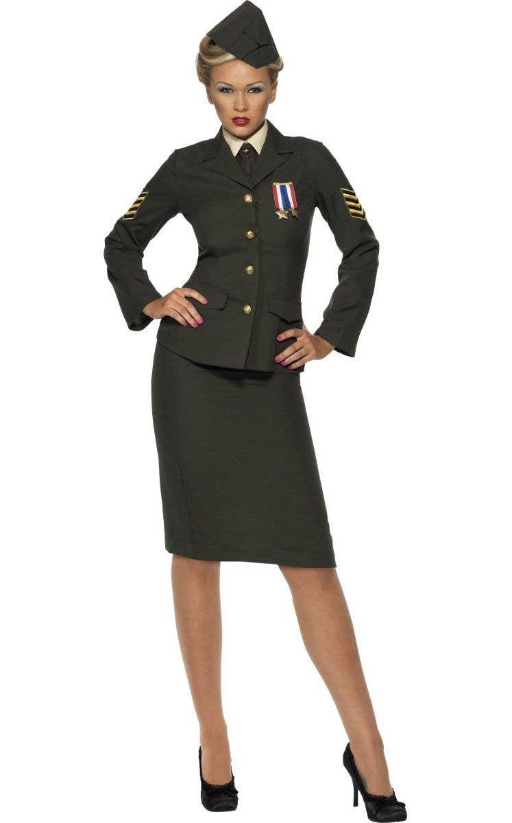 Uniform military women Stars and