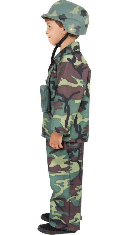 Boy/'s Army Fancy Dress Costume World Book Week Solider A Team Kids Party Theme