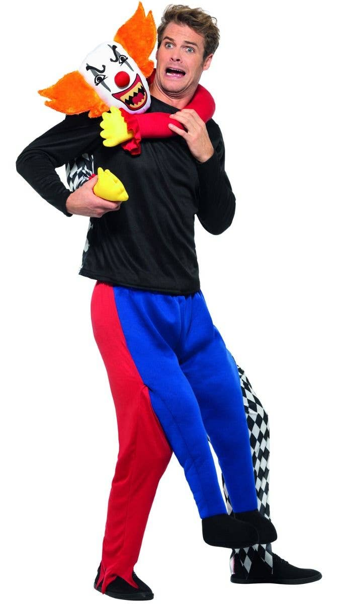 CARRY ME CRAZY CLOWN ADULT MENS FANCY DRESS HALLOWEEN COSTUME