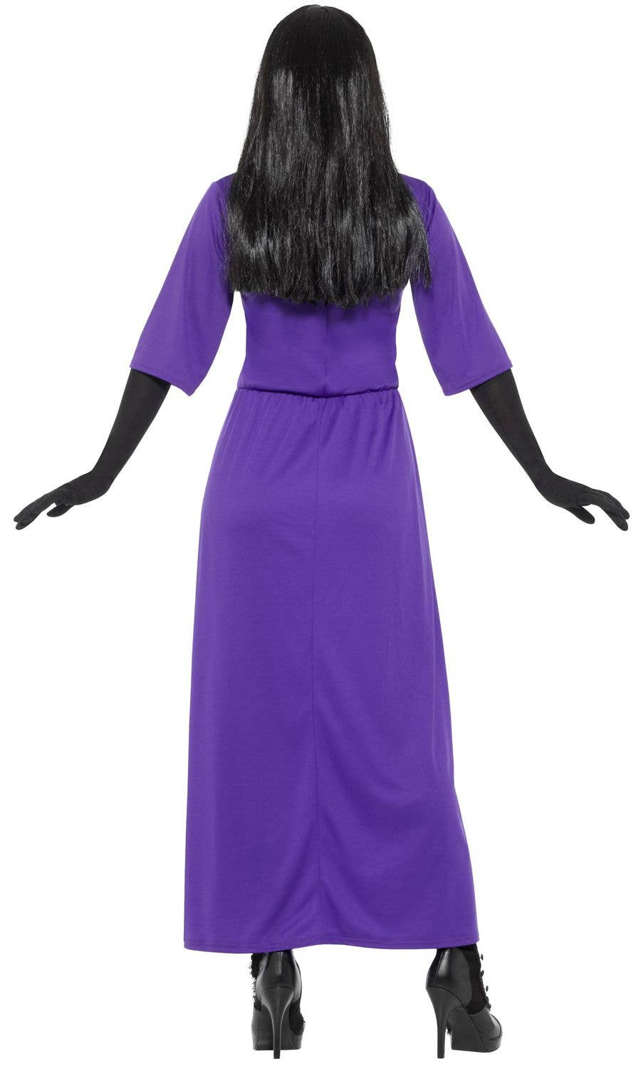 Long Purple Witch Stretch Costume The Witches Costume For Women