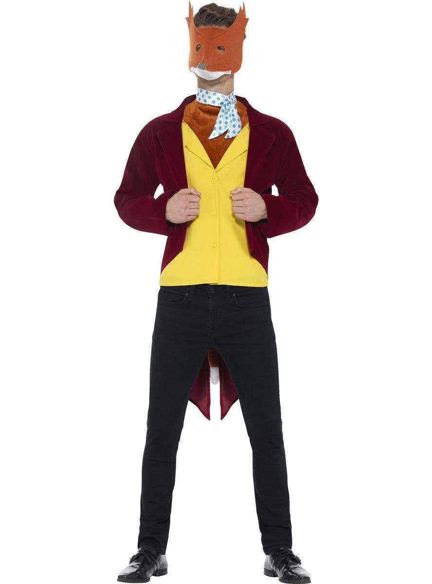 Red Velvet Fantastic Mr Fox Costume Men S Fantastic Mr Fox Outfit