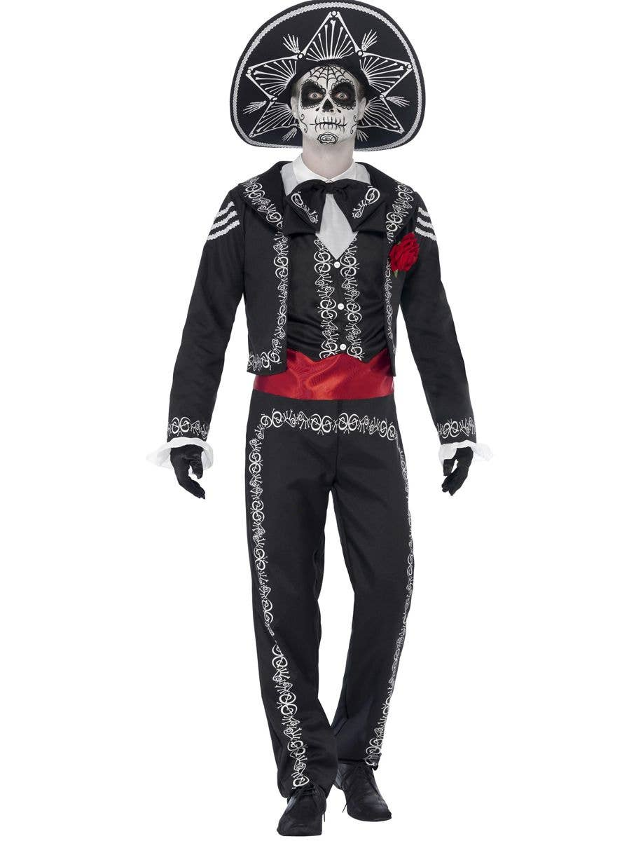 Deluxe Day of The Dead Tie Voodoo Skeleton Jacket
