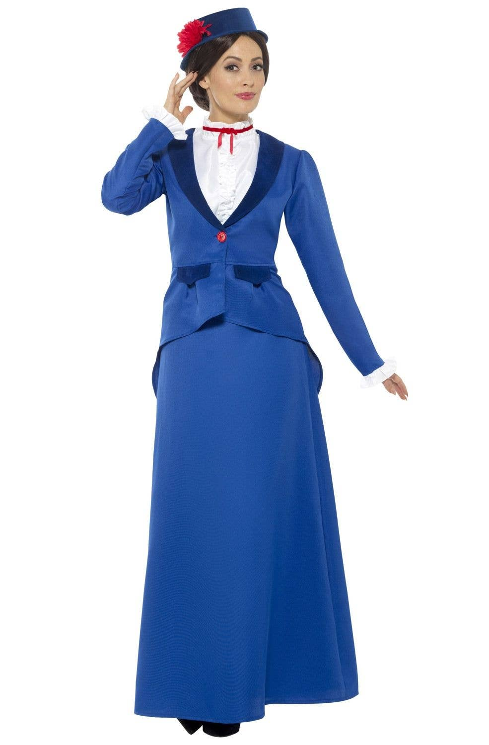 Girls Mary Poppins Costume English Nanny Maid Victorian Book Week Fancy Dress