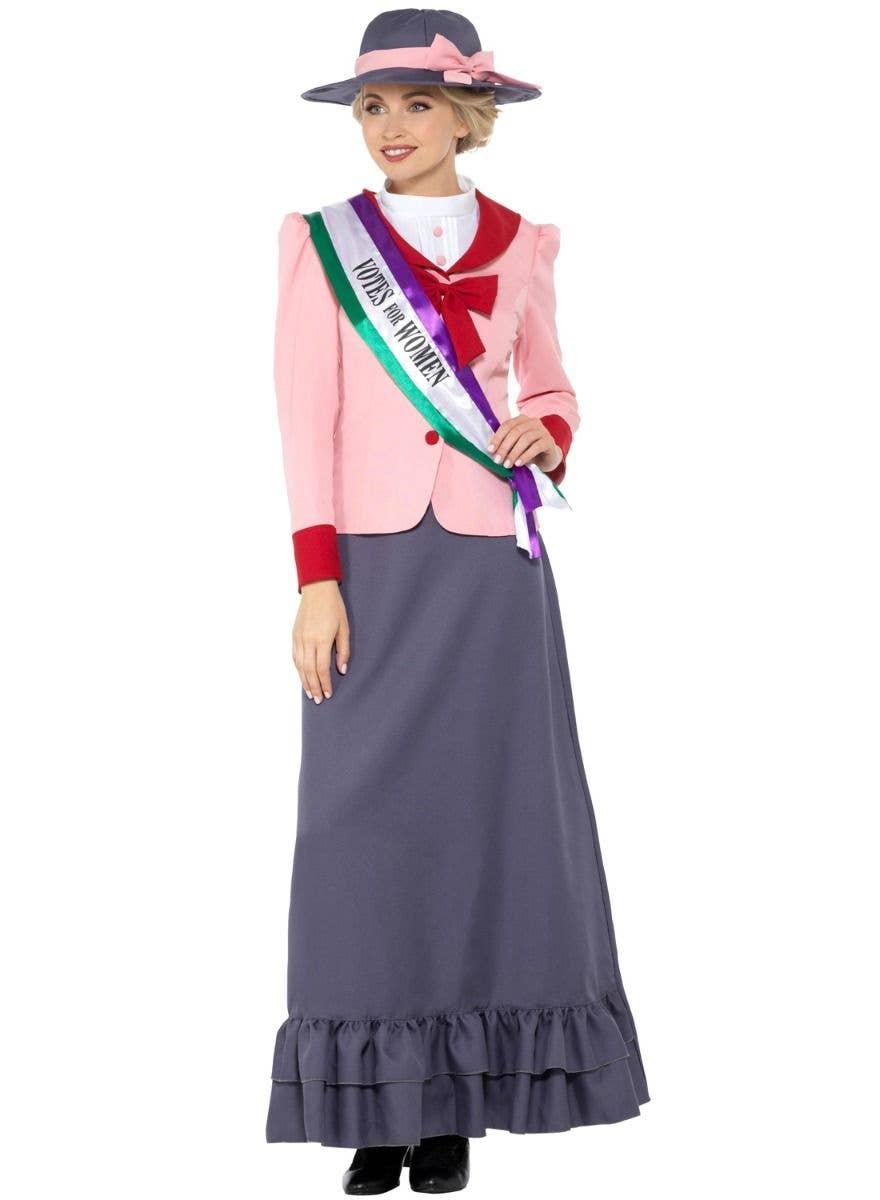 Girls Victorian suffragette votes women kids school book week fancy dress outfit