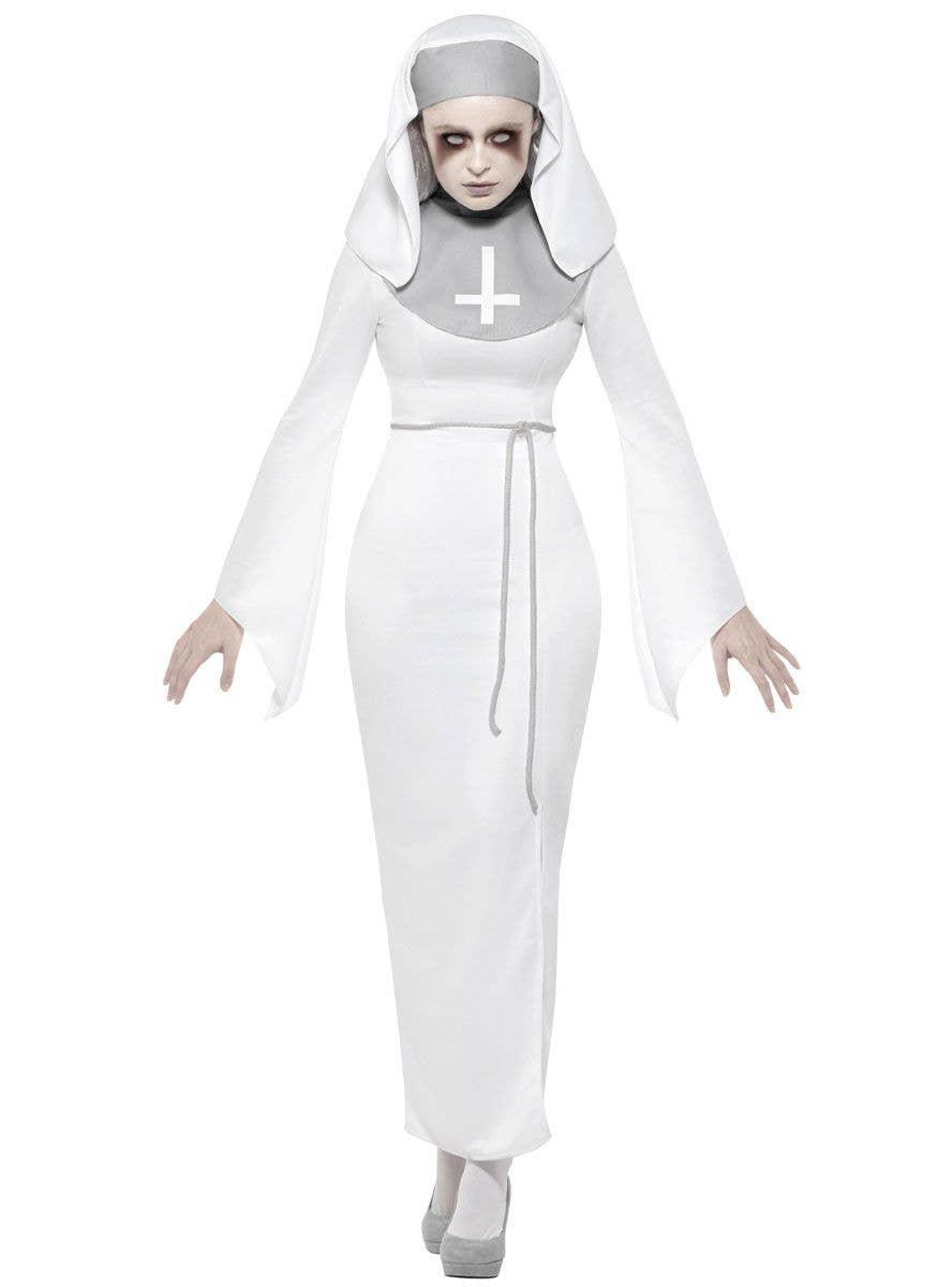 12 x Ladies Nun Fancy Dress Kit Habit Sister Headpiece Hen Party by Smiffys New