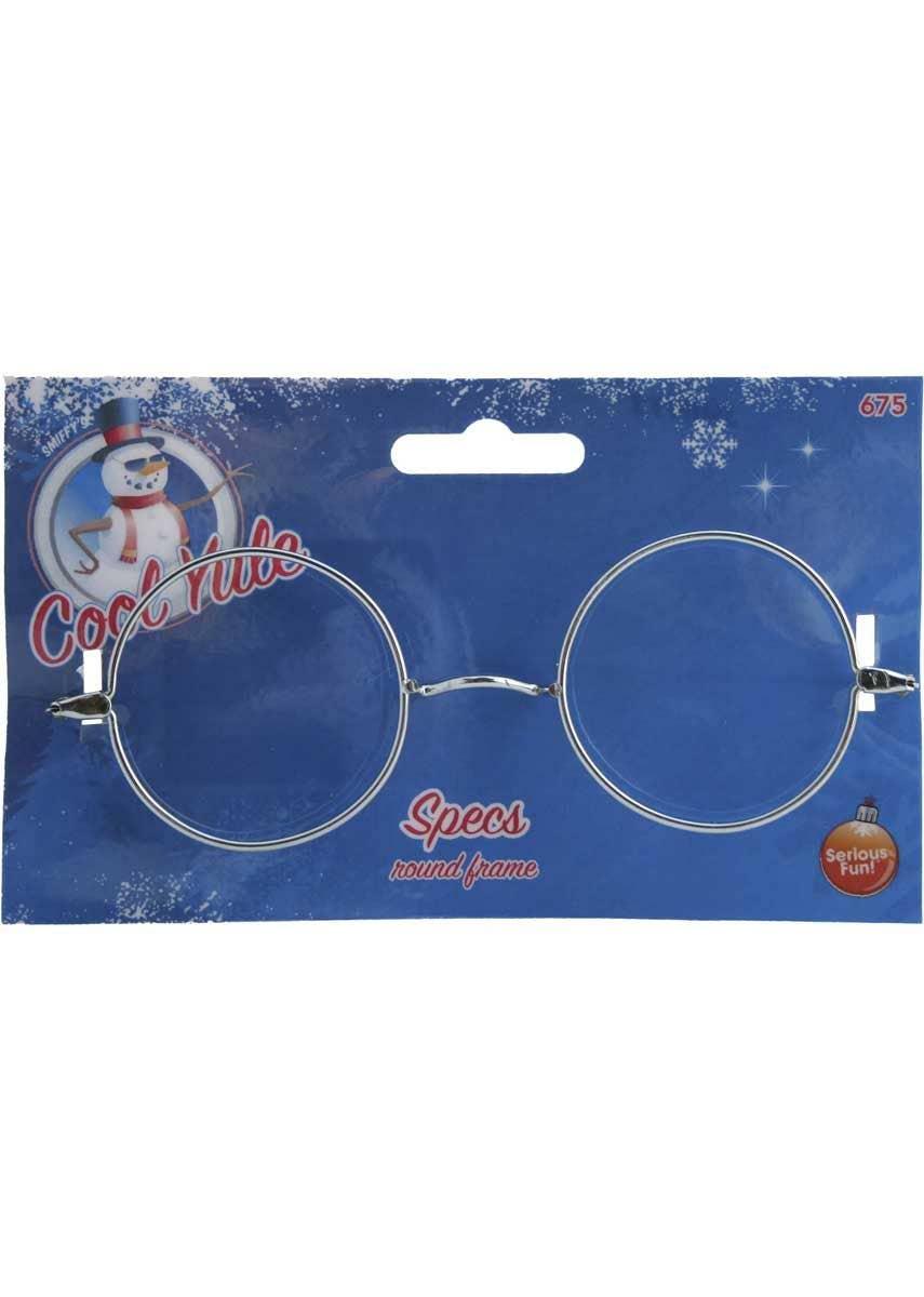 Silver Smiffy/'s Wire Framed Santa Specs