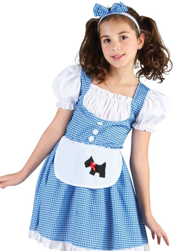 Ladies The Wizard of Oz Dorothy Costume Deluxe Book Week Teens Fancy Dress