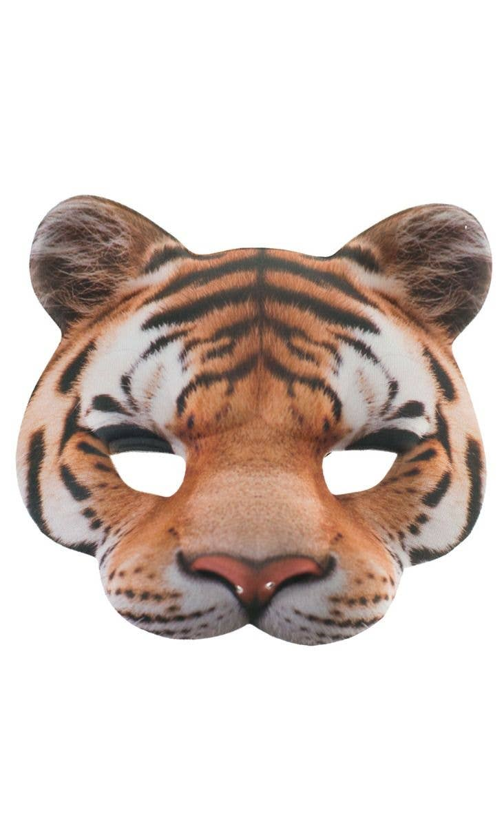 Latex Full Head Animal Popular Jungle Wild Cat Tiger Fancy Dress Carnival Mask