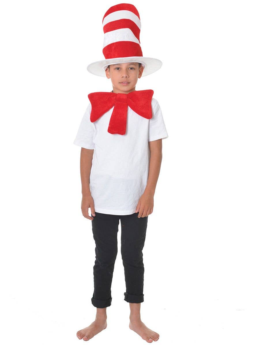 set of 4 Cat in the Hat Bow Set