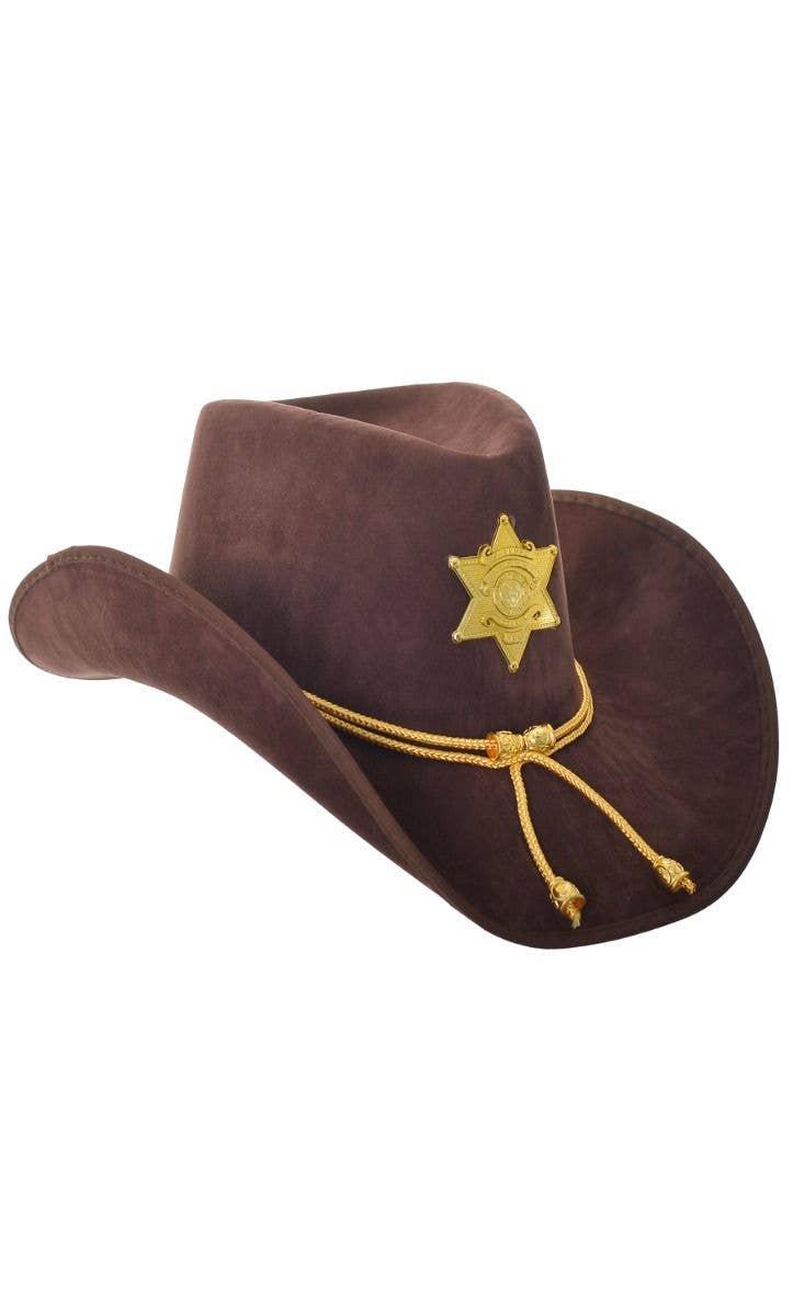 Mens Ladies Suede Black Western Cowboy Stetson Fancy Dress Costume Outfit Hat