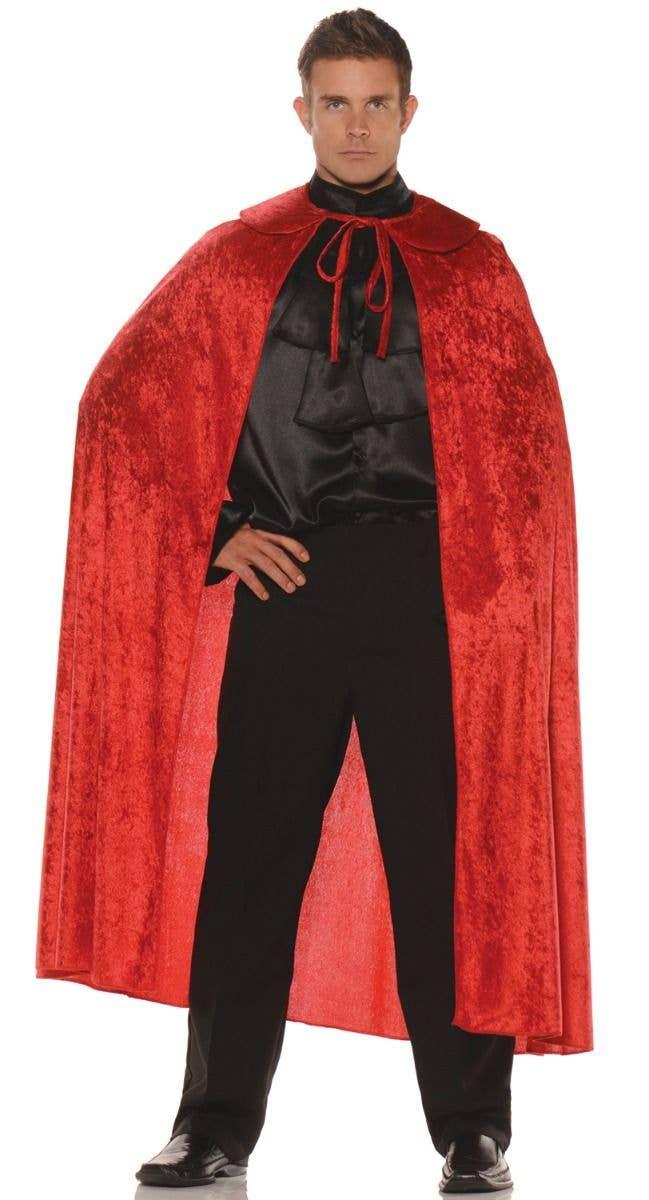 ZORRO CAPE WITH COLLAR FANCY DRESS COSTUME HALLOWEEN ACCESSORY