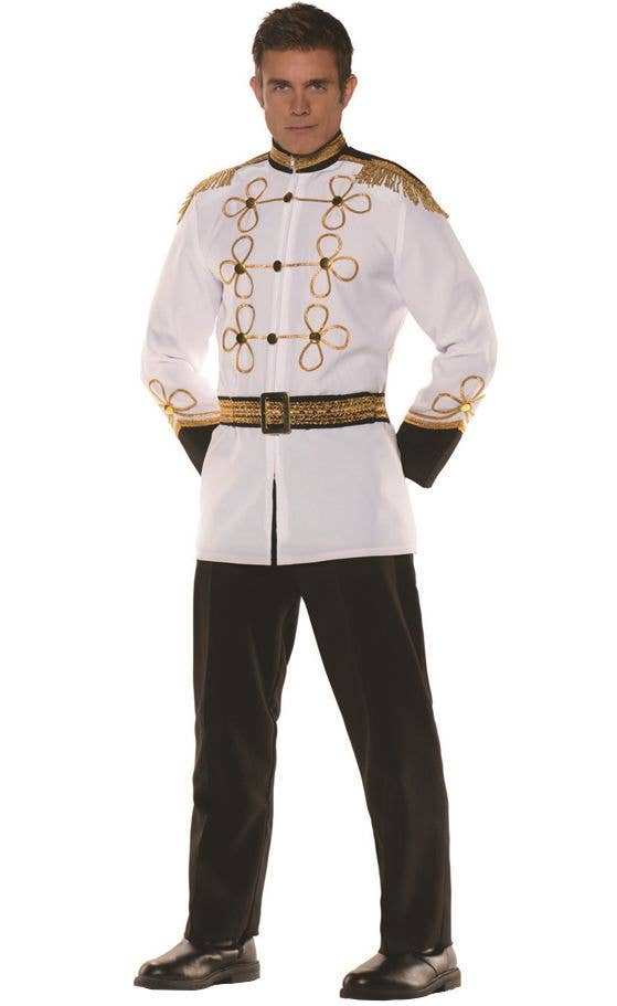 Adults Royal Prince Charming Mens Storybook Book Week Fancy Dress Costume
