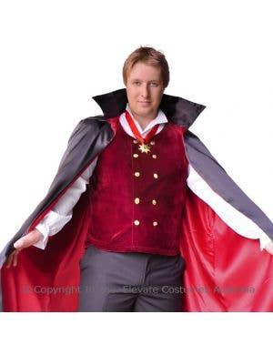 Count Bloodthirst Plus Size Vampire Costume
