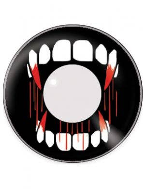 Vampire Teeth 90 Day Wear Halloween Contact Lenses