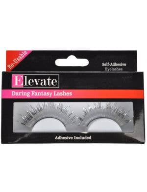 Tinsel Silver False Eyelashes