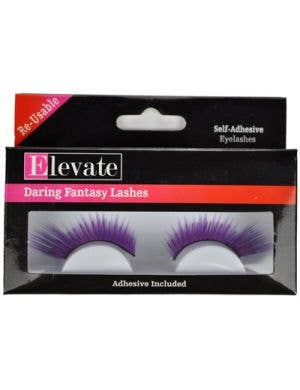 Tinsel Highlights Split Purple False Eyelashes