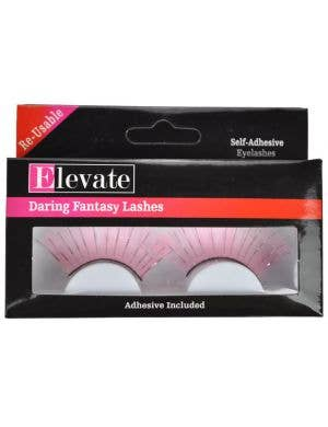 Extra Long Light Pink False Eyelashes