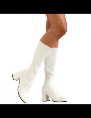 1960's Women's White Go Go Boots