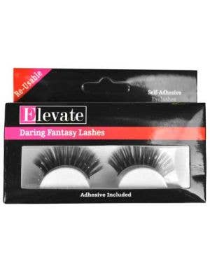 Tinsel Highlights Black False Eyelashes
