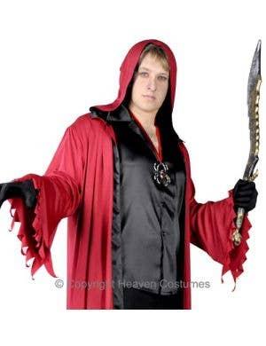 Evil Lucifer Men's Halloween Costume - Plus Size
