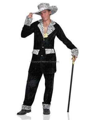 Mac Daddy Men's Pimp Costume - Black