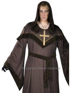 Sinister Monk Halloween Costume - Plus Size