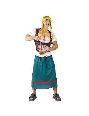 Miss Oktoberbreasts Men's Costume- Plus Size