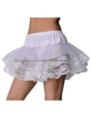 Cute Petticoat Tutu, White