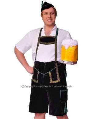 Slap Dance German Plus Size Lederhosen Costume