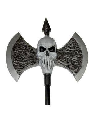 Giant Skull Warriors Axe Costume Accessory