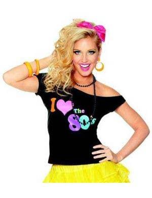 I Love the 80's Costume Shirt