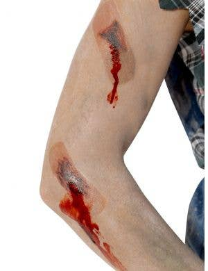 Zombie Plaster Wound Halloween Transfers