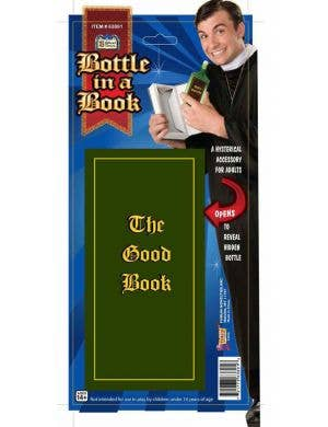 Bottle in a Book Priest's Costume Accessory