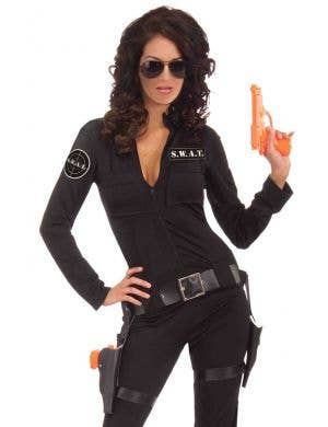 SWAT Sexy Woman Of Action Police Costume