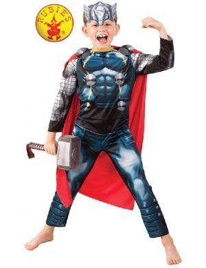 Avengers Boys Thor Character Fancy Dress Costume