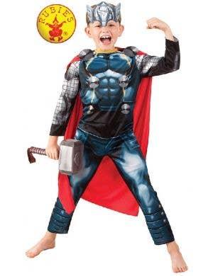 Avengers Boys Thor Character Fancy Dress Costume