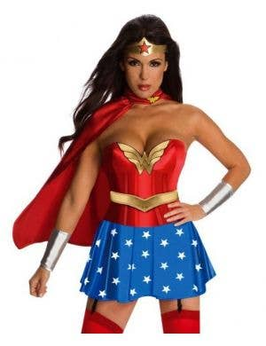 Wonder Woman Sexy Superhero Costume