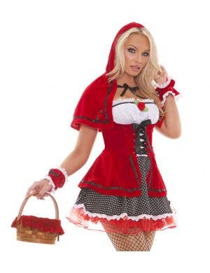 Sultry Women's Red Riding Hood Costume