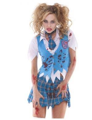 School Girl Spector Sexy Zombie Costume