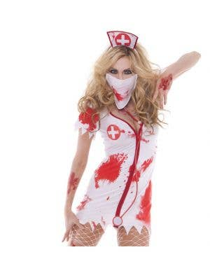 Nurse Bloodbath Betty Women's Halloween Zombie Costume
