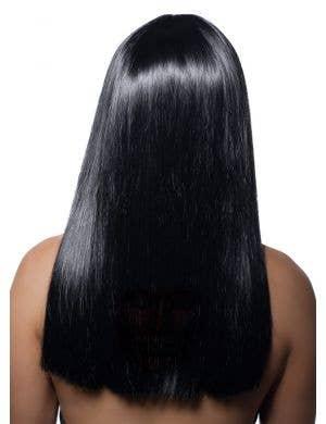 Luna Deluxe Straight Black Vampire Wig