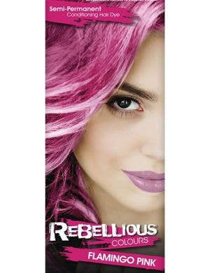 Vibrant Semi Permanent Flamingo Pink Hair Dye - Small 13ml