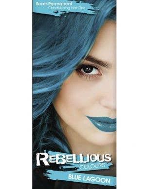 Vibrant Semi Permanent Blue Lagoon Hair Dye - Small 13ml