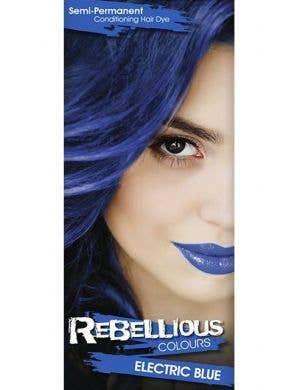Vibrant Semi Permanent Electric Blue Hair Dye - Small 13ml