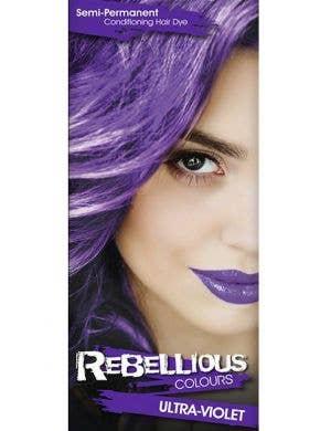 Vibrant Semi Permanent Ultra Violet Hair Dye - Small 13ml