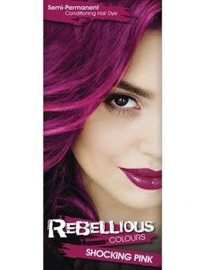 Vibrant Semi Permanent Shocking Pink Hair Dye - Small 13ml