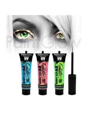 UV Reactive Glitter Me Up Eyeliner - Mint Green