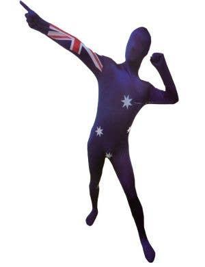 Aussie Flag Australia Day Invisible Suit