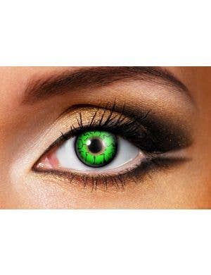 Goblin Green Single Wear Contact Lenses